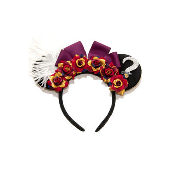 Captain Hook Disney Ears Headband, Mouse Ears, Captain Hook Ears, Captain Hook Costume, Disney Villain, Peter Pan Party, Disney Bound