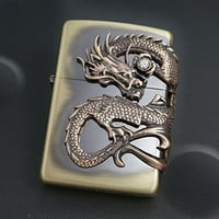 Zippo Dragon Beautiful Japanese design Collection New Japan