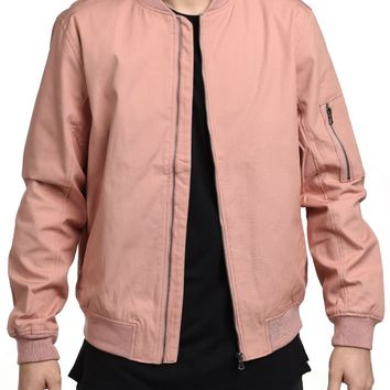Canvas Jacket is Dust Rose