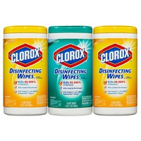 Clorox Disinfecting Wipes Value Pack Scented 225 ct Total : Target
