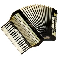 Weltmeister, 80 Bass, 8 Registers, Case, German Piano Accordion Instrument (640)