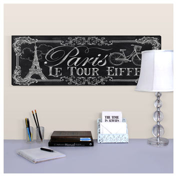 Le Tour Eiffel Wall Canvas | Dorm Room Decor | OCM.com