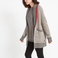 Roots Cabin Shaker Cardigan