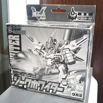 Takara Super Battle B-Daman Bomberman No VA-01 Siege Whiter Crystal Limited Model Kit Figure