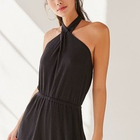 Out From Under Sarai Halter Romper   Urban Outfitters