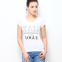 Vogue Tee - White Online Shopping | 51705