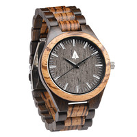 All Wood Watch // Zebrawood + Ebony 31