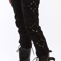 O-Ring Twill Jeans - Mens gothic, industrial and cyber pants.