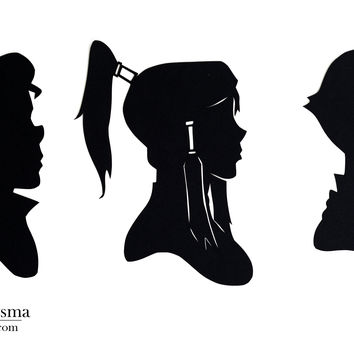 Legend of Korra Hand-cut Paper from italsma on Etsy | Home Dec