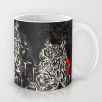 Night owl  Mug by Kristy Patterson Design