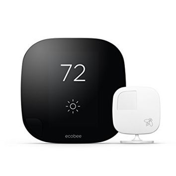 Ecobee3 Thermostat with Sensor, Wi-Fi, 2nd Generation, Works with Amazon Alexa
