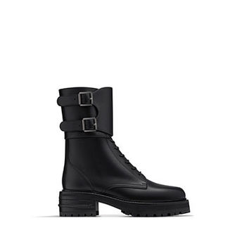 Boot in black calfskin leather - Dior