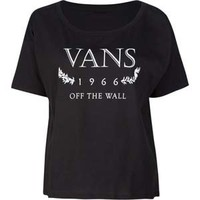 VANS History Womens Boxy Tee 189451100 | Graphic Tees & Tanks | Tillys.com