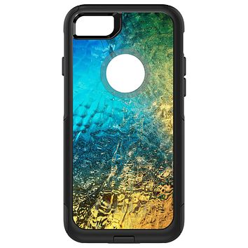 DistinctInk™ OtterBox Commuter Series Case for Apple iPhone or Samsung Galaxy - Colorful Rainbow Waterfall
