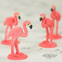 "1"" Flamingos - Set of 4 - 234-4822"