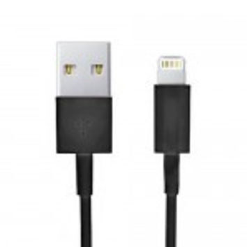 Black iPhone Lightning to USB Cable