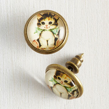 From Meow On Earrings | Mod Retro Vintage Earrings | ModCloth.com