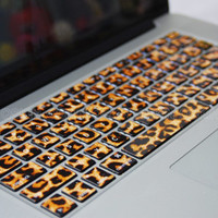 Decal MacBook-Leopard Macbook Keyboard Decal/Macbook Pro Keyboard Skin/Macbook Air Sticker/Macbook vinyl sticker