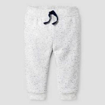 Baby Boys' Jogger - Baby Cat & Jack™ Gray w/ Blue Neps : Target