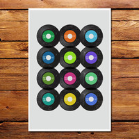 45 RPM Poster