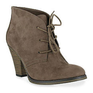 MIA Shawna Lace-Up Booties - Belk.com