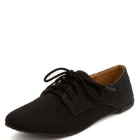 NUBUCK LACE-UP OXFORD