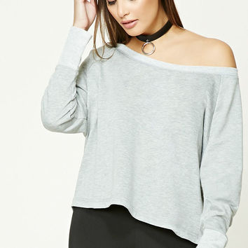 French Terry Dolman Top