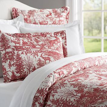 Alpine Toile Duvet Cover & Sham