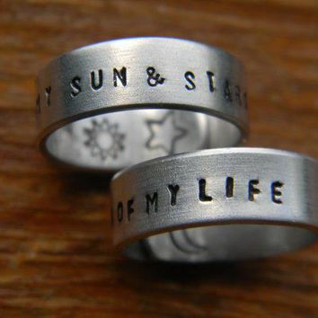Game Of Thrones Two Wrap Rings 'my Sun And By Lindamunequita