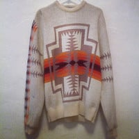 Vintage Pendleton Southwestern 100 Wool by OfAFeatherVintage