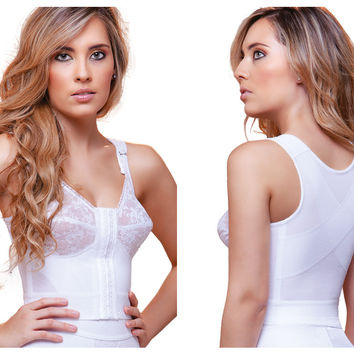 Vedette Tatiana Front Close and Back Support Bra.