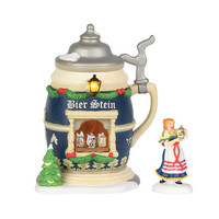 Department56 - Christmas Market, The Bier Stein Booth
