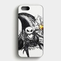 The Nightmare Before Christmas Smiley iPhone SE Case
