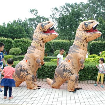 Adult  T-REX Inflatable Costume Spring Summer Cosplay Dinosaur Fun