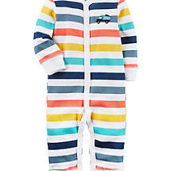 Carter's® Boys Newborn Snap-Up Cotton Sleep & Play