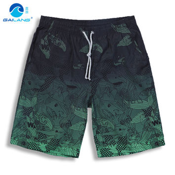S-3XL shorts Men Bermuda masculina Quick dry surf swimwear board shorts BoardShorts plus size swimming trunks male shorts Men b7