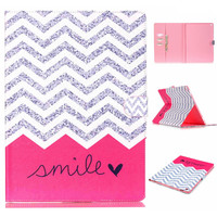 [Smile] For Cover Apple iPad Pro 12.9 [inch] Smart PU Leather Tablet Case Stand Flip Cute Kids Cover /w Screen Protector Film