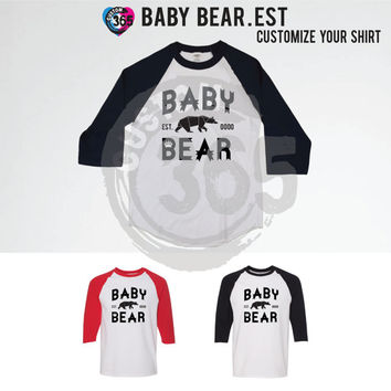 Baby Bear (Straight Fit Raglan Shirts Individual Prices)