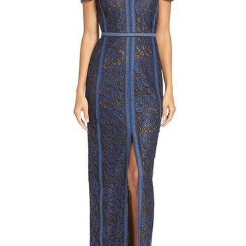 BCBGMAXAZRIA Cailean Lace Gown | Nordstrom