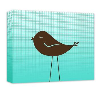 Little Birdie II Children's Canvas Wall Art
