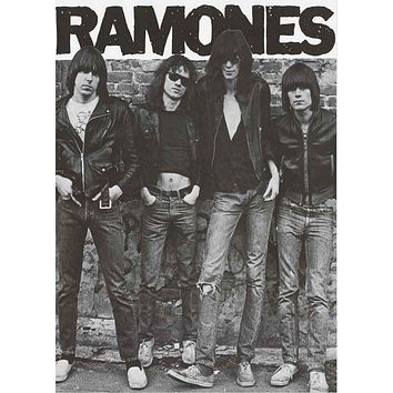 The Ramones Band Portrait Poster 24x33