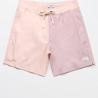 "Modern Amusement Rogers Blocked 18"" Swim Trunks at PacSun.com"