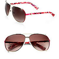 Dior - Metal Aviator Sunglasses - Saks Fifth Avenue Mobile