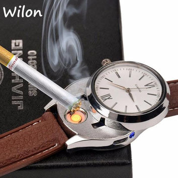 Usb Cigarette Lighter Watch