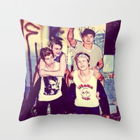 5 seconds of summer Throw Pillow by kikabarros