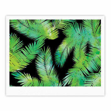 "Draper ""Tropic Green"" Black Nature Fine Art Gallery Print"