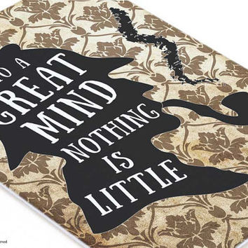 Sherlock Holmes wall art-Sherlock quote canvas board-holiday gift-Sherlock Holmes decor-home decor-dorm wall art-by NATURA PICTA-CB032