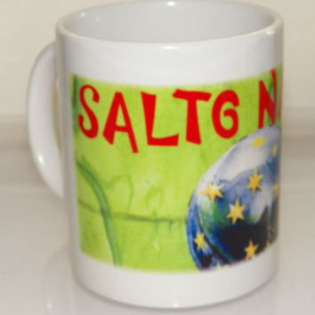 Salto Natale Circus Germany Souvenir Coffee Tea Mug Cup