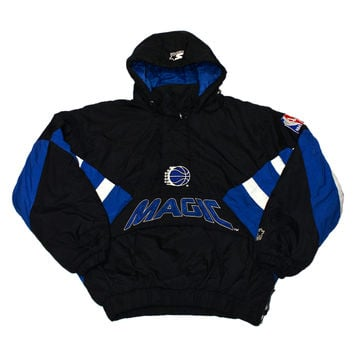 Vintage 90s Orlando Magic Starter Jacket Mens Size Medium