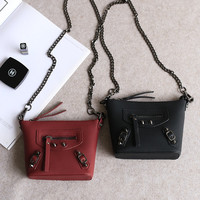 Chain Korean One Shoulder Phone Bags Lock [4915814660]